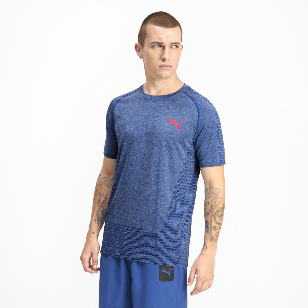 Image Puma Tec Sports evoKNIT Men's Basic Tee #1