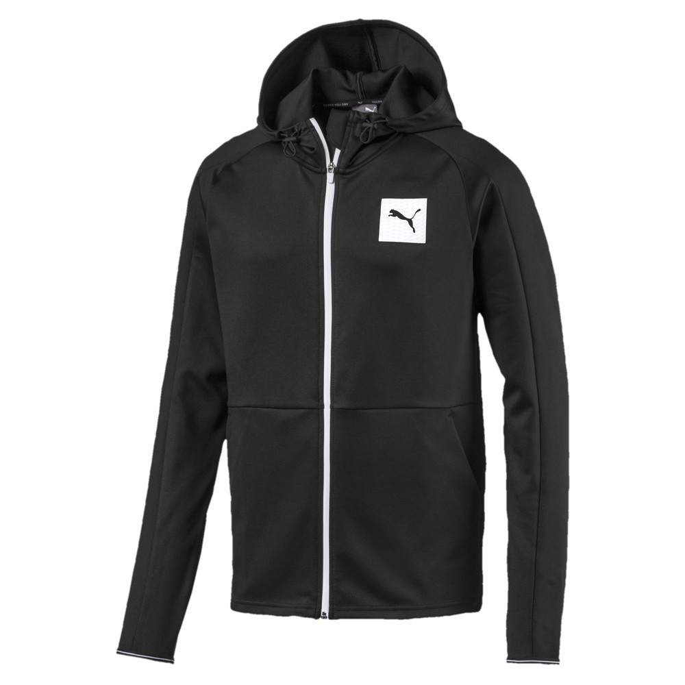 Image PUMA Tec Sports Full Zip Men's Hoodie #1