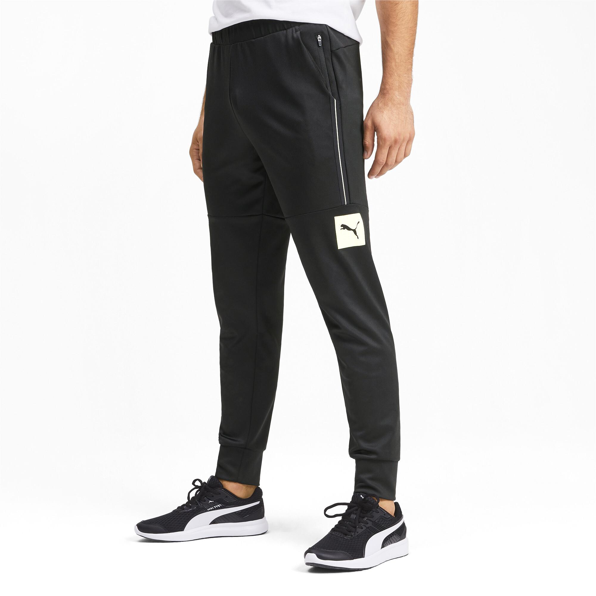 PUMA-Tec-Sports-Men-039-s-Sweatpants-Men-Knitted-Pants-Basics thumbnail 4