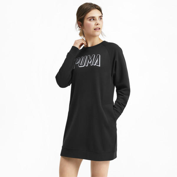 Vestido Athletics para mujer, Puma Black, grande