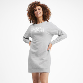 Miniatura 2 de Vestido Athletics para mujer, Light Gray Heather, mediano