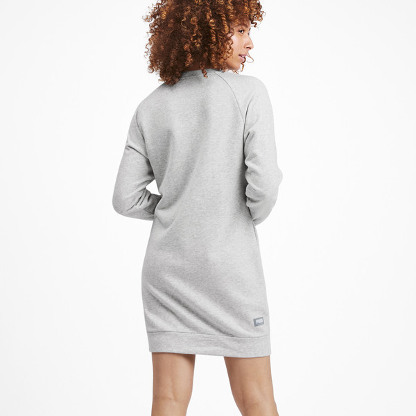 Vestido Athletics para mujer, Light Gray Heather, grande