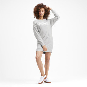 Miniatura 4 de Vestido Athletics para mujer, Light Gray Heather, mediano