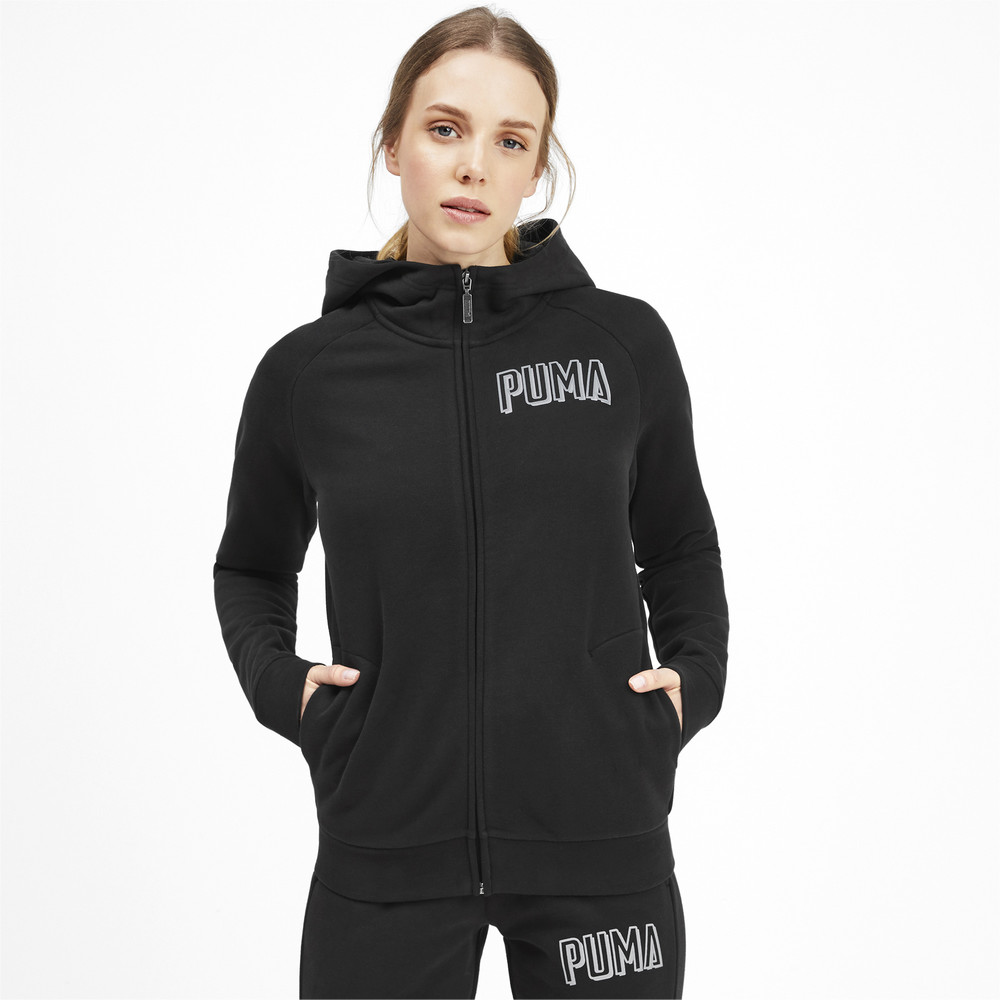 Зображення Puma Толстовка Athletics FZ Hoody FL #1
