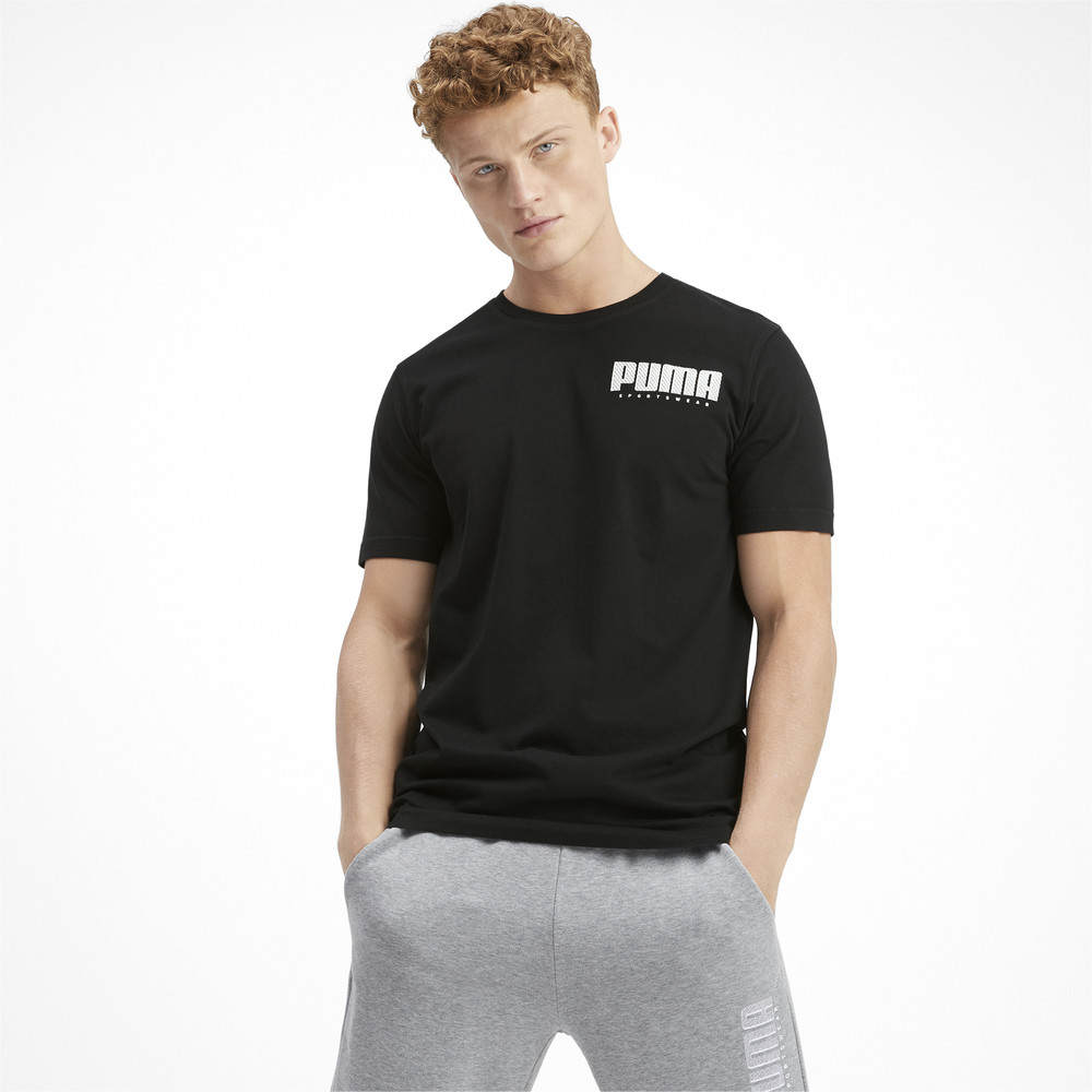 Зображення Puma Футболка Athletics Elevated Tee #1