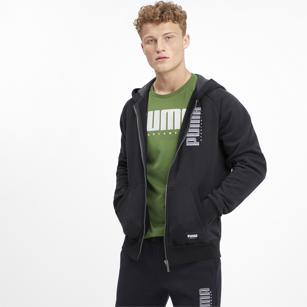 Изображение Puma Толстовка Athletics FZ Hoody FL #1
