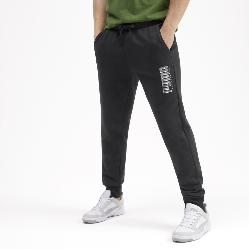 Зображення Puma Штани Athletics Pants FL Сl #1