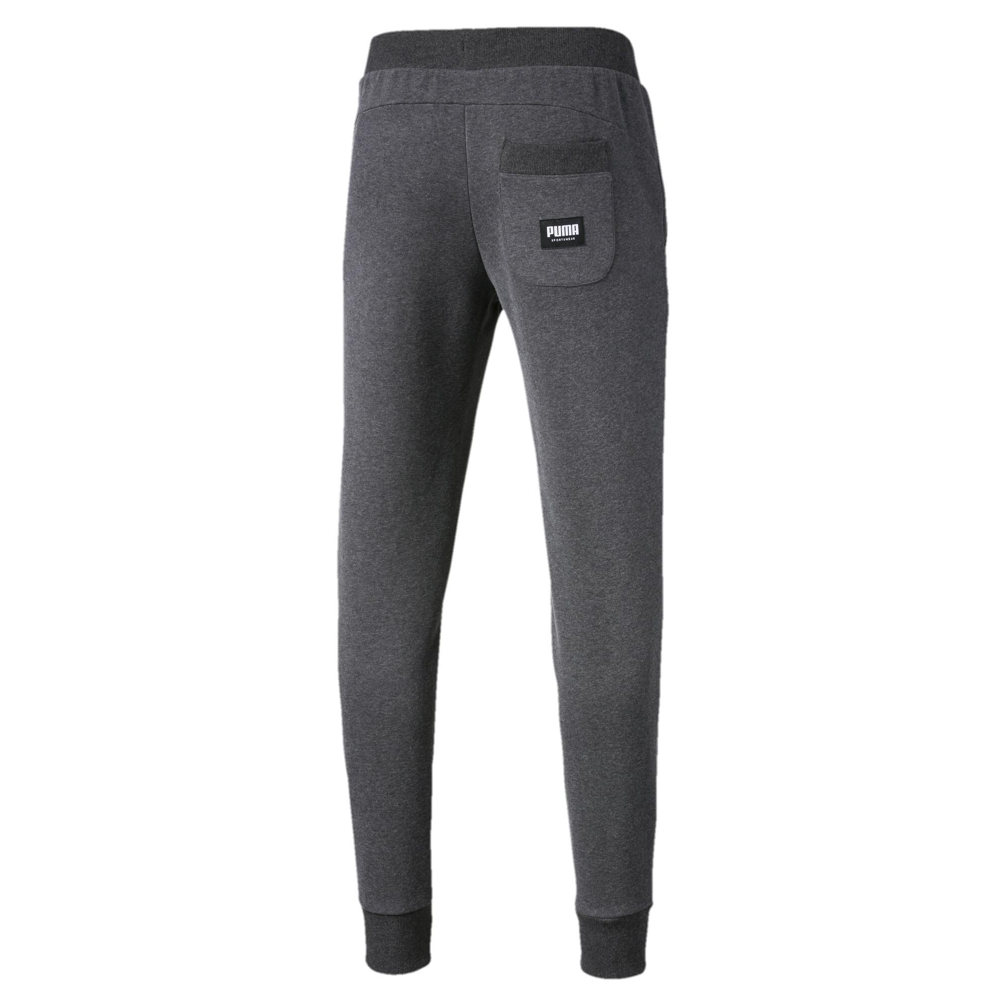PUMA-Athletics-Men-039-s-Fleece-Pants-Men-Knitted-Pants-Basics thumbnail 3