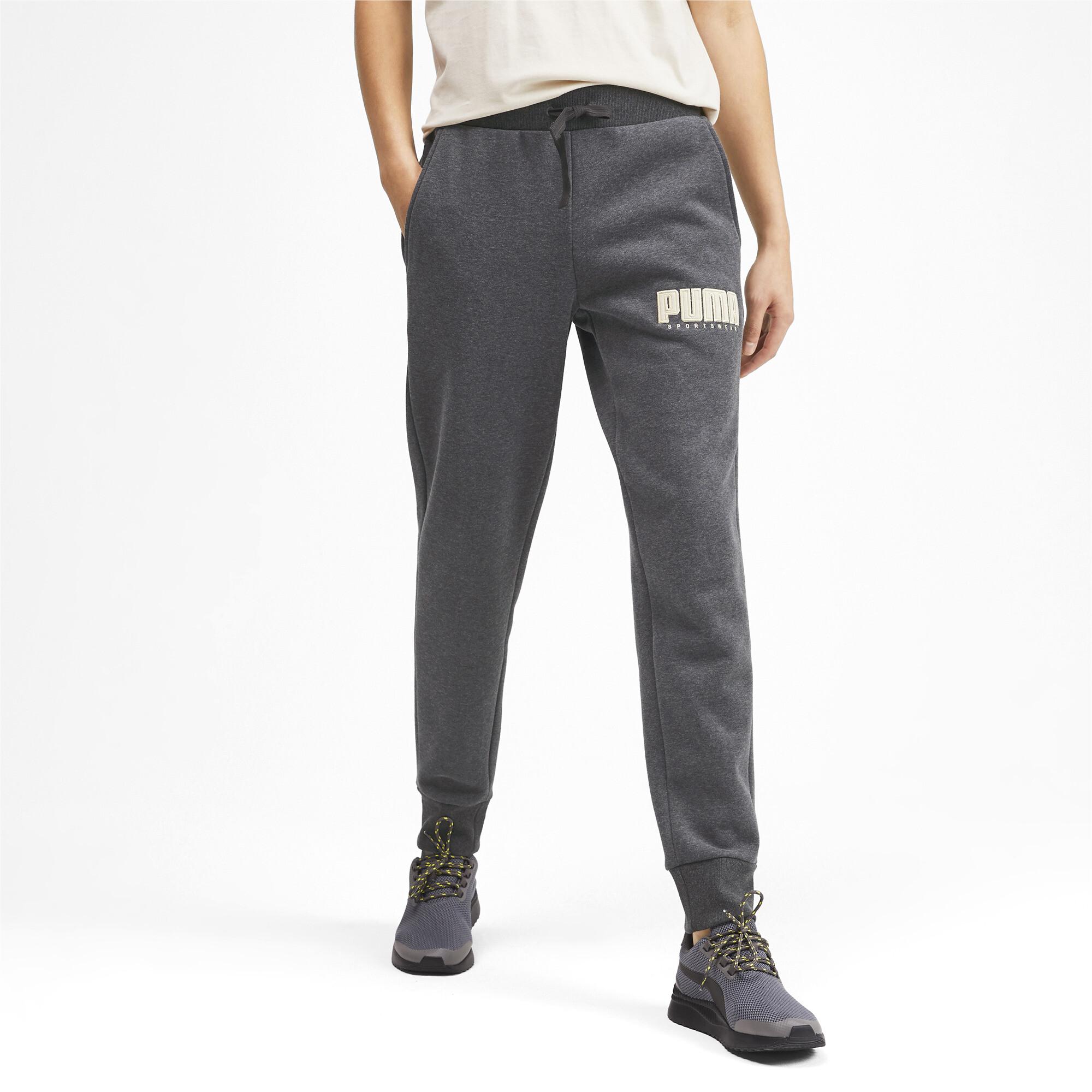 PUMA-Athletics-Men-039-s-Fleece-Pants-Men-Knitted-Pants-Basics thumbnail 4