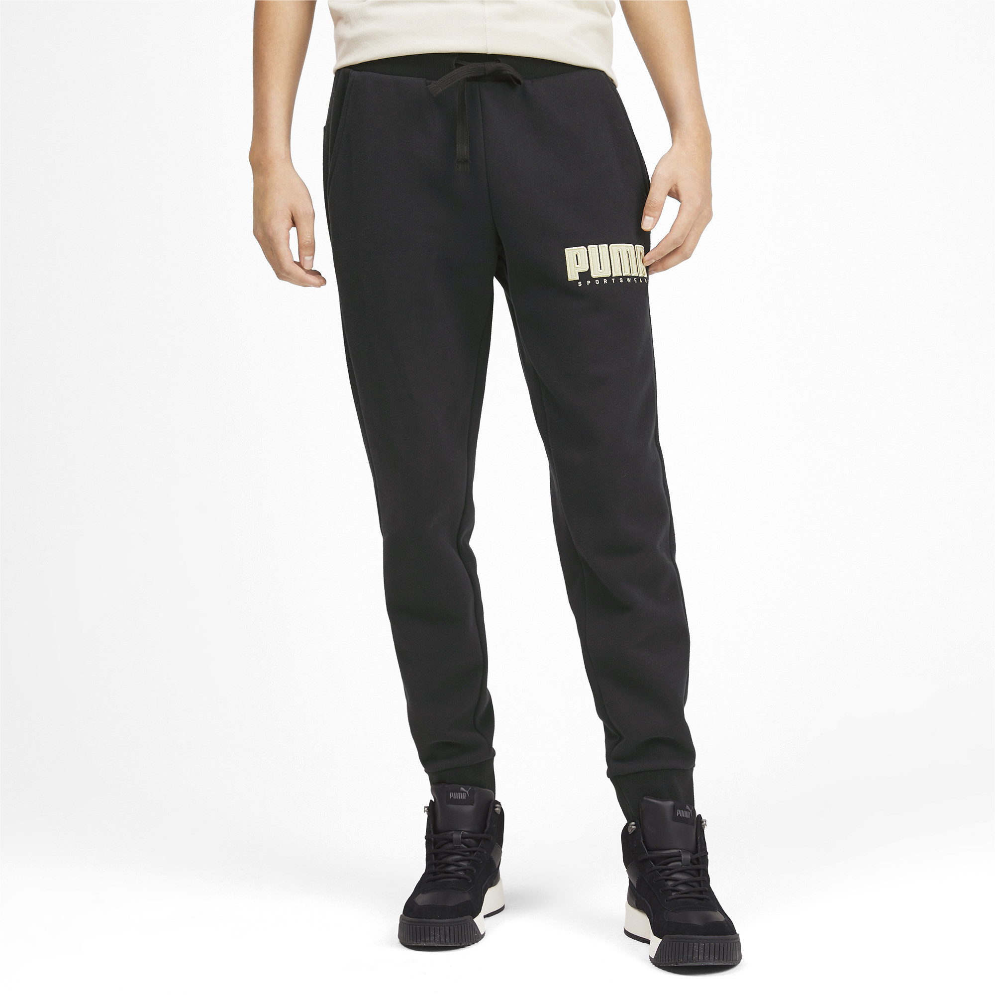 PUMA-Athletics-Men-039-s-Fleece-Pants-Men-Knitted-Pants-Basics thumbnail 9
