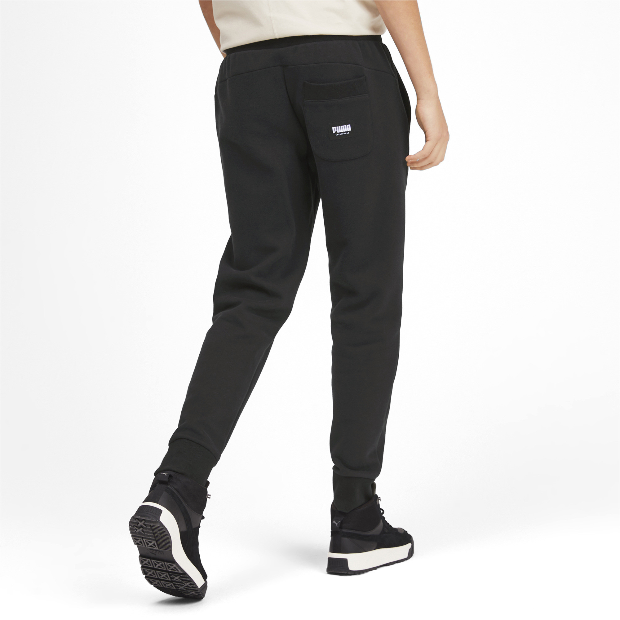 PUMA-Athletics-Men-039-s-Fleece-Pants-Men-Knitted-Pants-Basics thumbnail 10