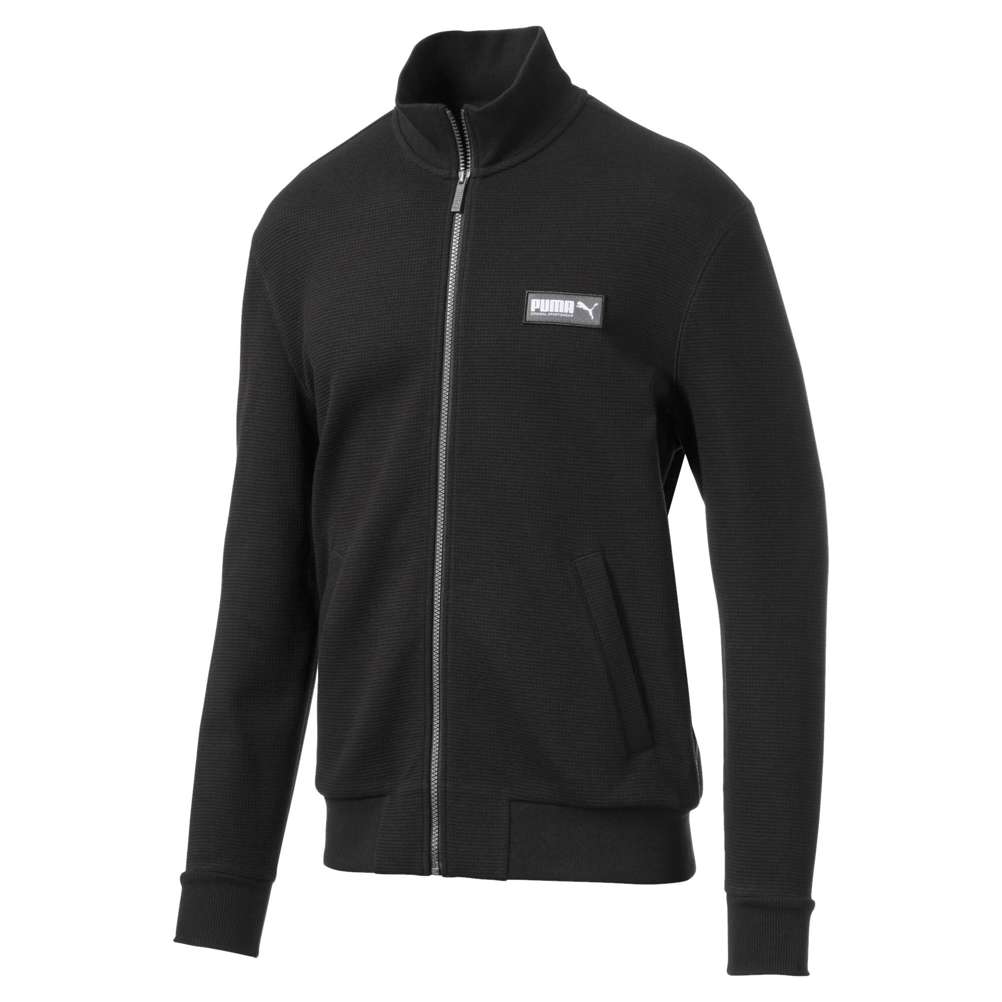 PUMA-Fusion-Men-039-s-Jacket-Men-Sweat-Basics thumbnail 2