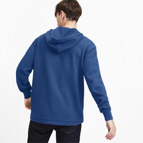 Miniatura 3 de Chaqueta con capucha Fusion para hombre, Galaxy Blue, mediano