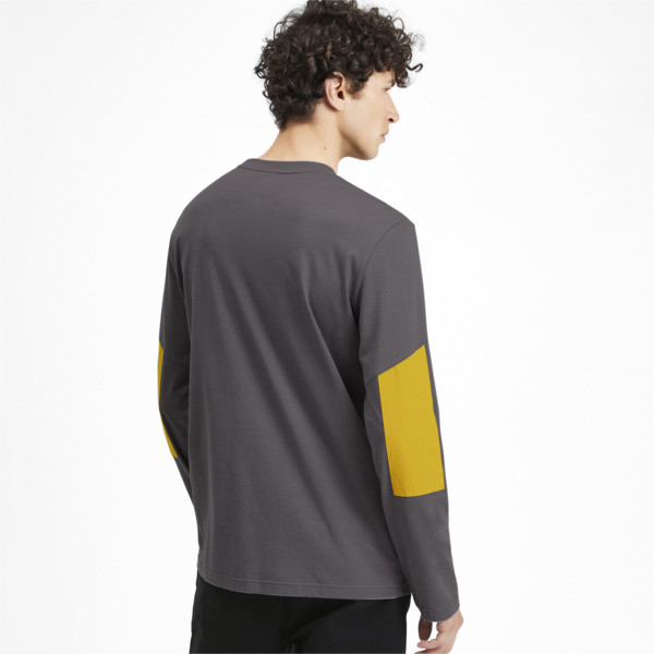 Camiseta de mangas largas NU-TILITY para hombre, CASTLEROCK, grande