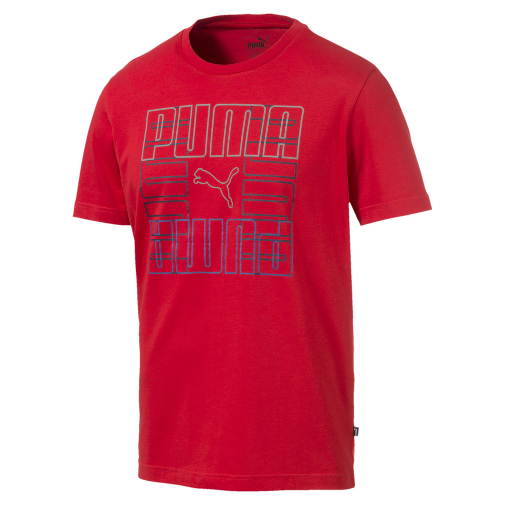 Image PUMA Brand Graphic Men's Tee #1
