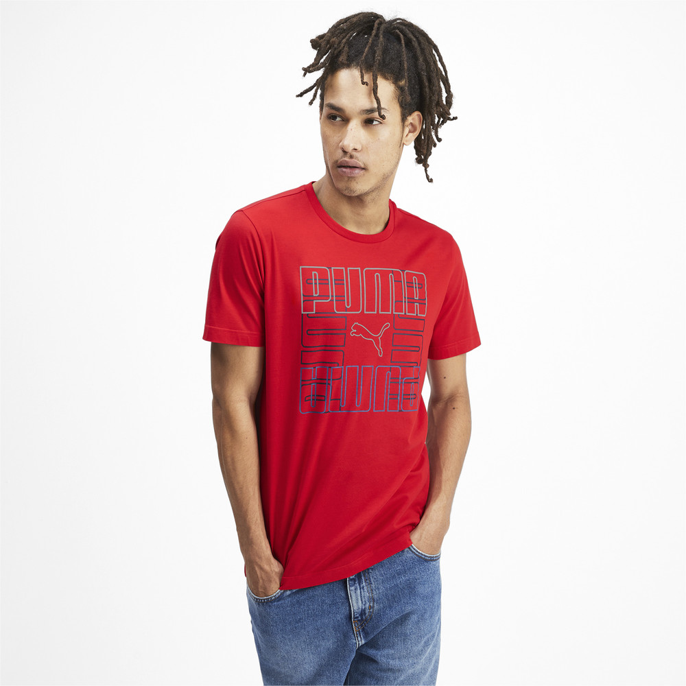 Image PUMA Brand Graphic Men's Tee #2