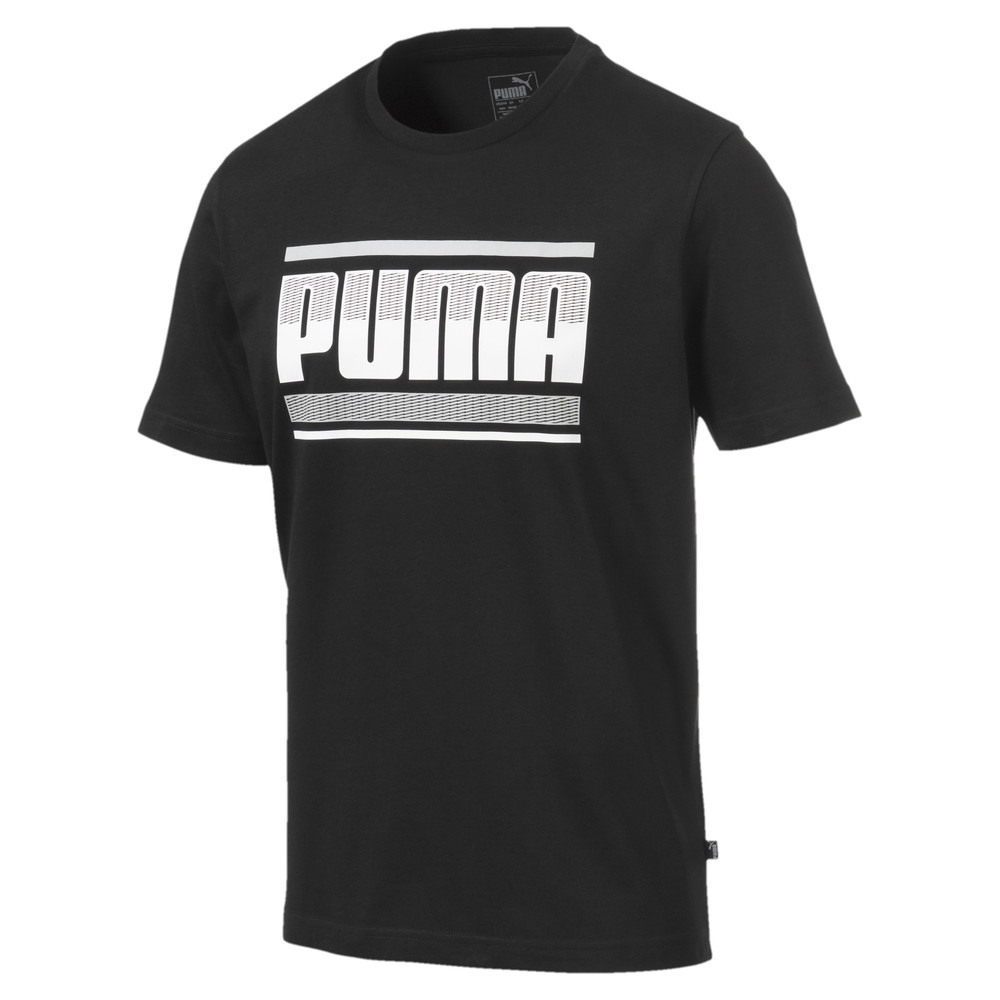 Image PUMA Graphic Short Sleeve Men's Tee #1