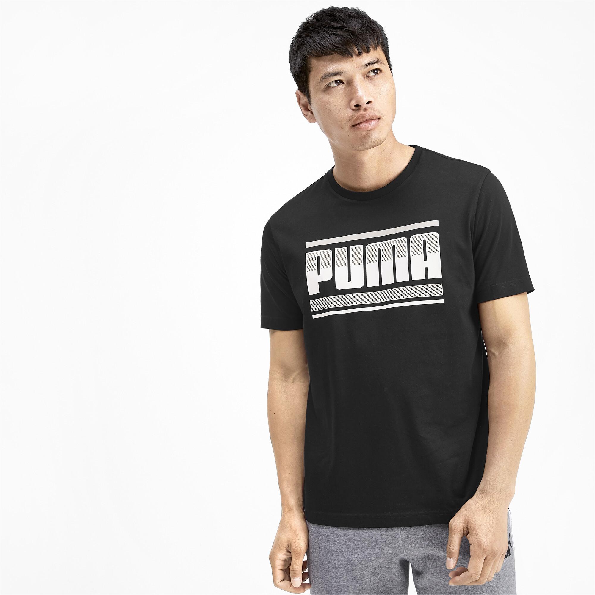 PUMA-PUMA-Graphic-Men-039-s-Tee-Men-Tee-Basics thumbnail 4