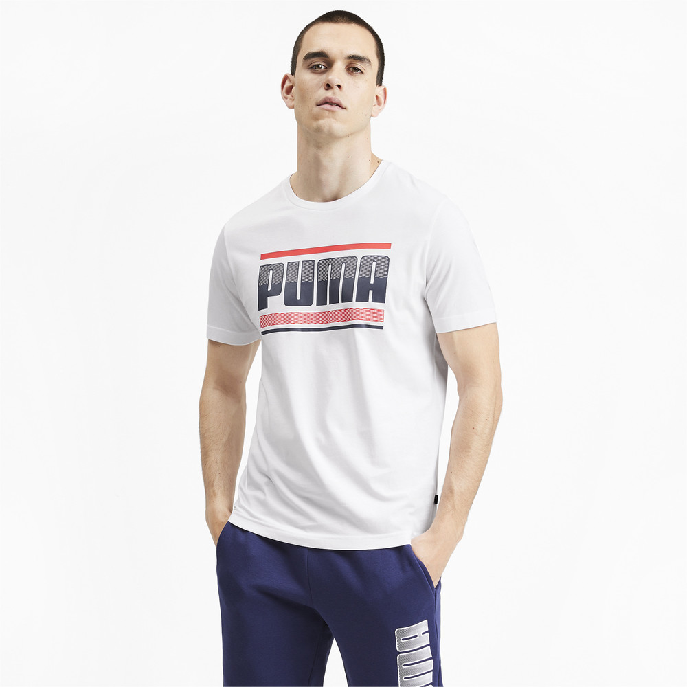 Image Puma Graphic Short Sleeve Men's Tee #2
