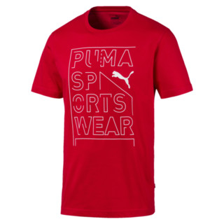 Image Puma Repeat Brand Graphic Men's Tee