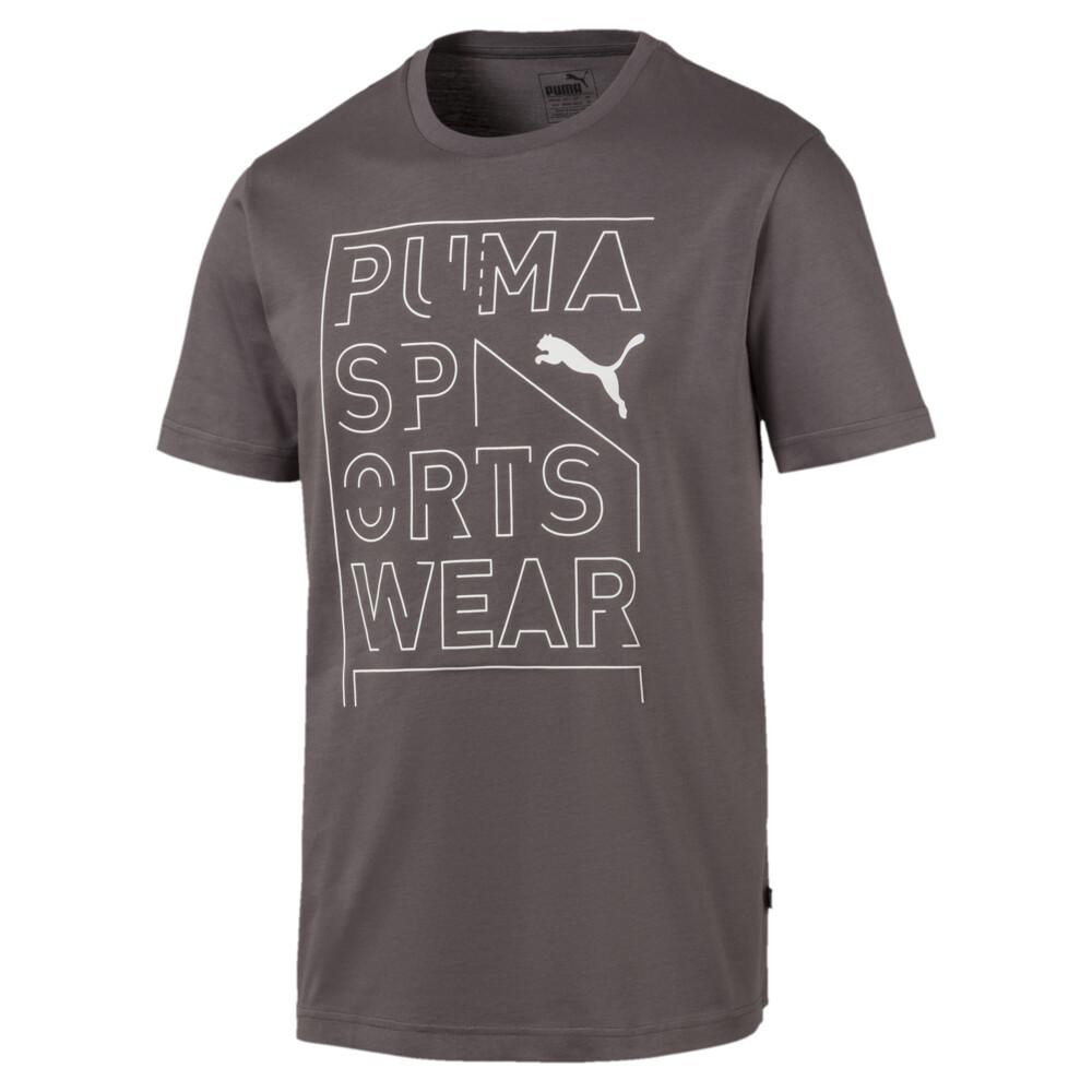 Image Puma Repeat Brand Graphic Men's Tee #1