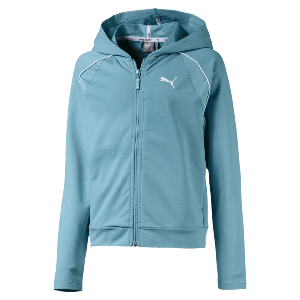 Image Puma Active Sports Girls' Sweat Jacket #1
