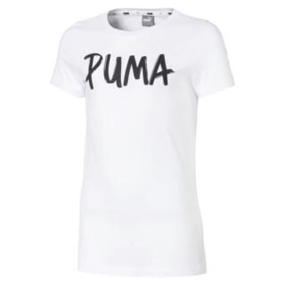 Image PUMA Alpha Logo Short Sleeve Girls' Tee