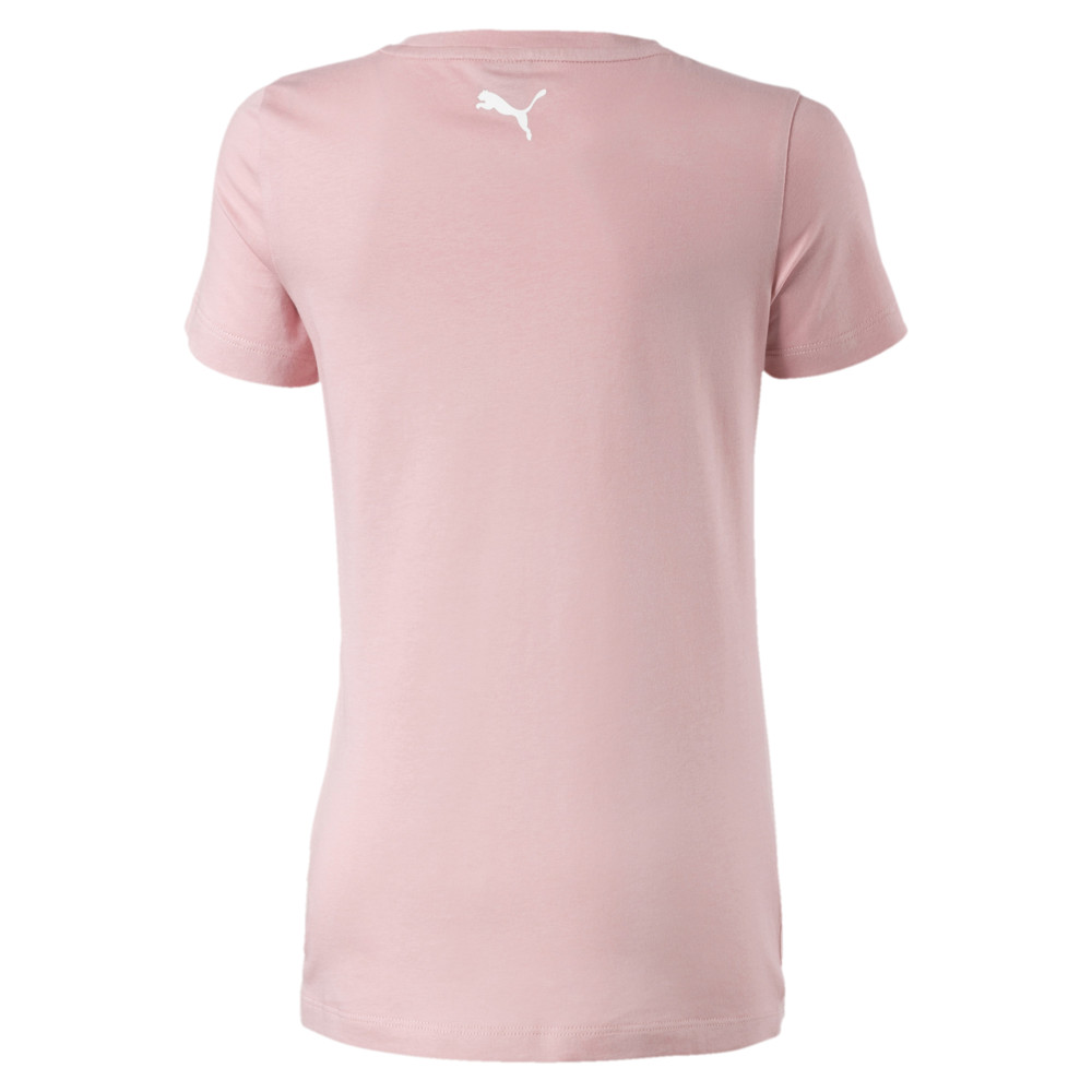 Image Puma Alpha Logo Short Sleeve Girls' Tee #2