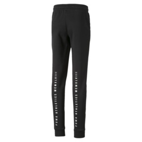 Thumbnail 2 of Alpha Girls' Sweatpants, Puma Black, medium