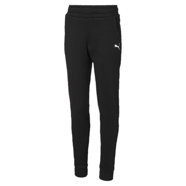 Alpha Girls' Sweatpants, Puma Black, large