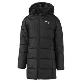 Hooded Girls' Padded Jacket