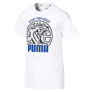Image Puma Alpha Graphic Boys' Tee
