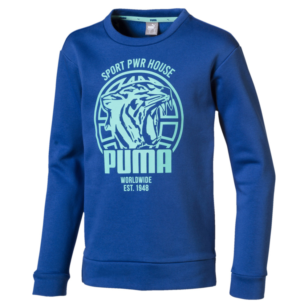 Image PUMA Alpha Graphic Boys' Crew #1