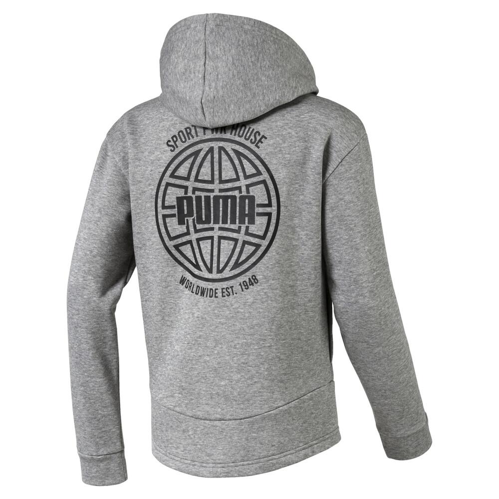 Image PUMA Alpha Graphic Sweat Jacket #2