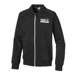 Thumbnail 1 of Alpha Jungen Bomberjacke, Puma Black, medium