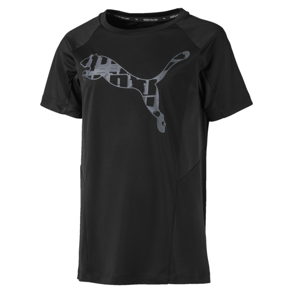 Image PUMA Active Sports Short Sleeve Boys' Tee #1