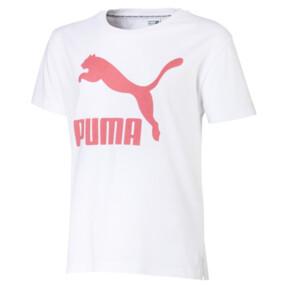 Miniatura 1 de Camiseta Classics para niña JR, Puma White, mediano