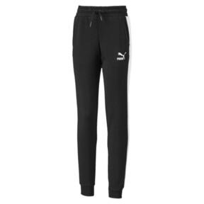 Miniatura 1 de Pantalones deportivosClassicsT7 para niña joven, Puma Black, mediano