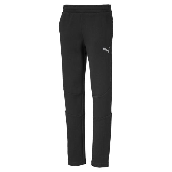 Pantalones deportivos Evostripe para niño joven, Puma Black, grande