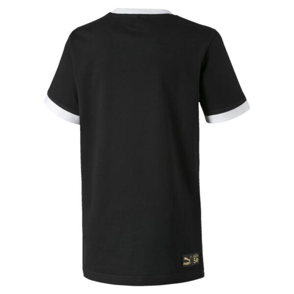 キッズ セサミストリート SS グラフィック Tシャツ (半袖), Puma Black, large-JPN