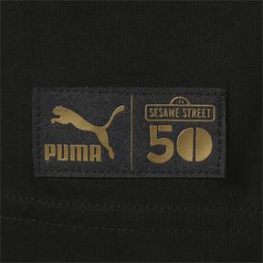 Thumbnail 4 of キッズ セサミストリート SS グラフィック Tシャツ (半袖), Puma Black, medium-JPN