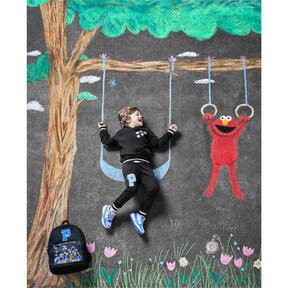 Thumbnail 3 of PUMA x SESAME STREET Kids' Hoodie, Puma Black, medium