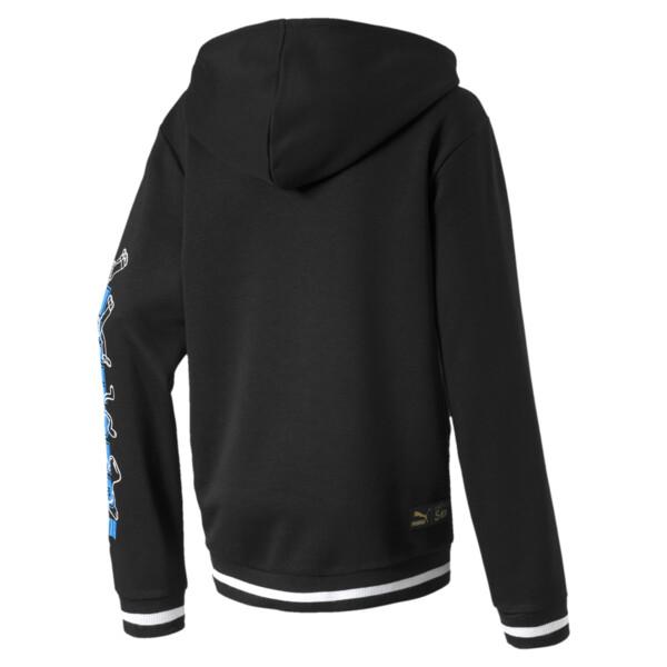 PUMA x SESAME STREET Kids' Hooded Jacket, Puma Black, large