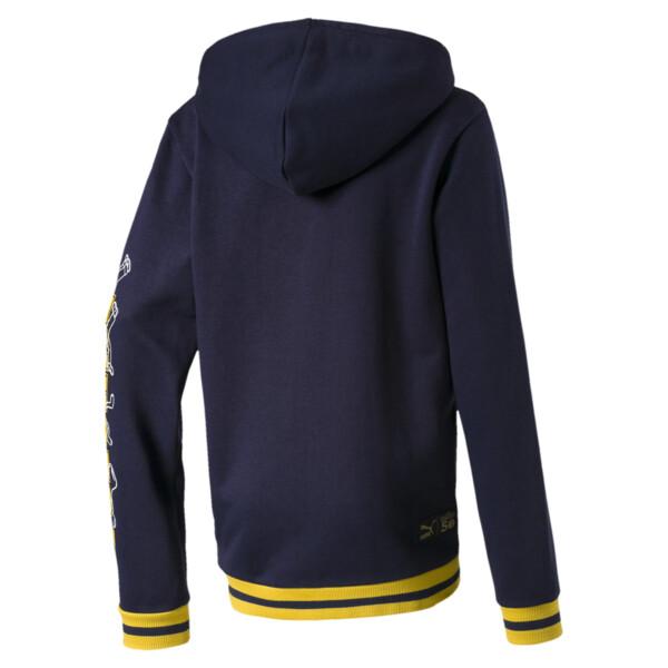 PUMA x SESAME STREET Kids' Hooded Jacket, Peacoat, large