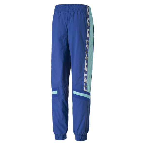 PUMA XTG Woven Boys' Pants, Galaxy Blue, large