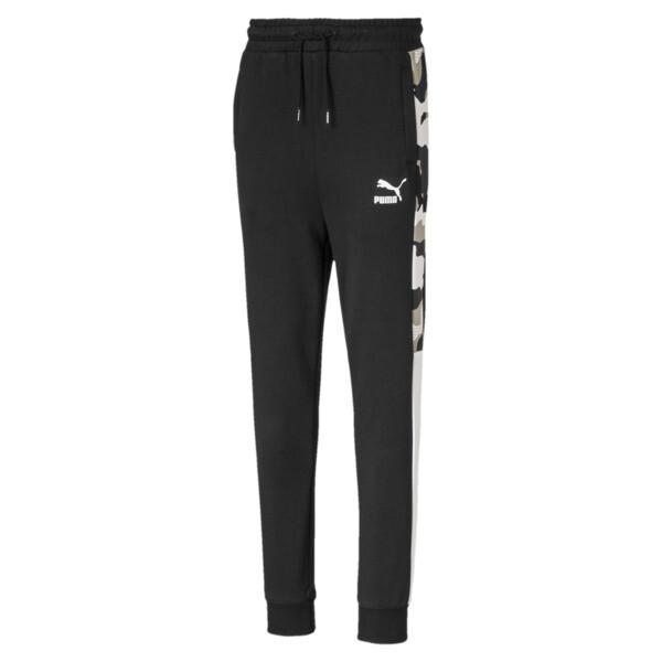 Pantalon de survêtement Classics T7 pour garçon, Puma Black, large