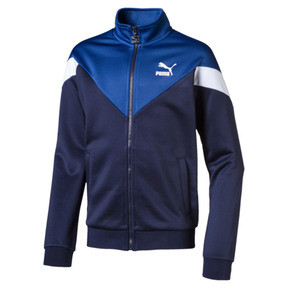 Thumbnail 1 of Iconic MCS Boys' Track Jacket, Peacoat, medium