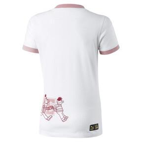 Imagen en miniatura 2 de Camiseta de manga corta de niña Barrio Sésamo®, Puma White, mediana