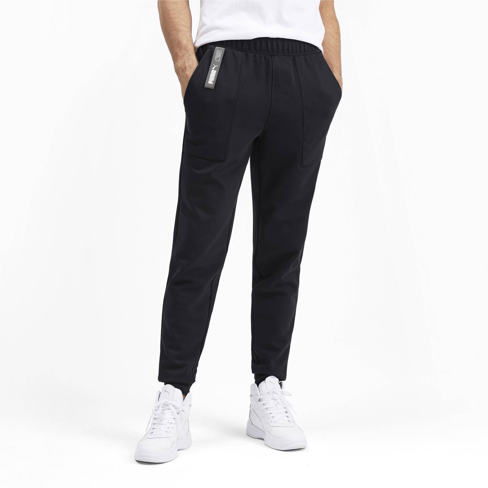 PUMA-NU-TILITY-Men-039-s-Sweatpants-Men-Knitted-Pants-Basics thumbnail 19
