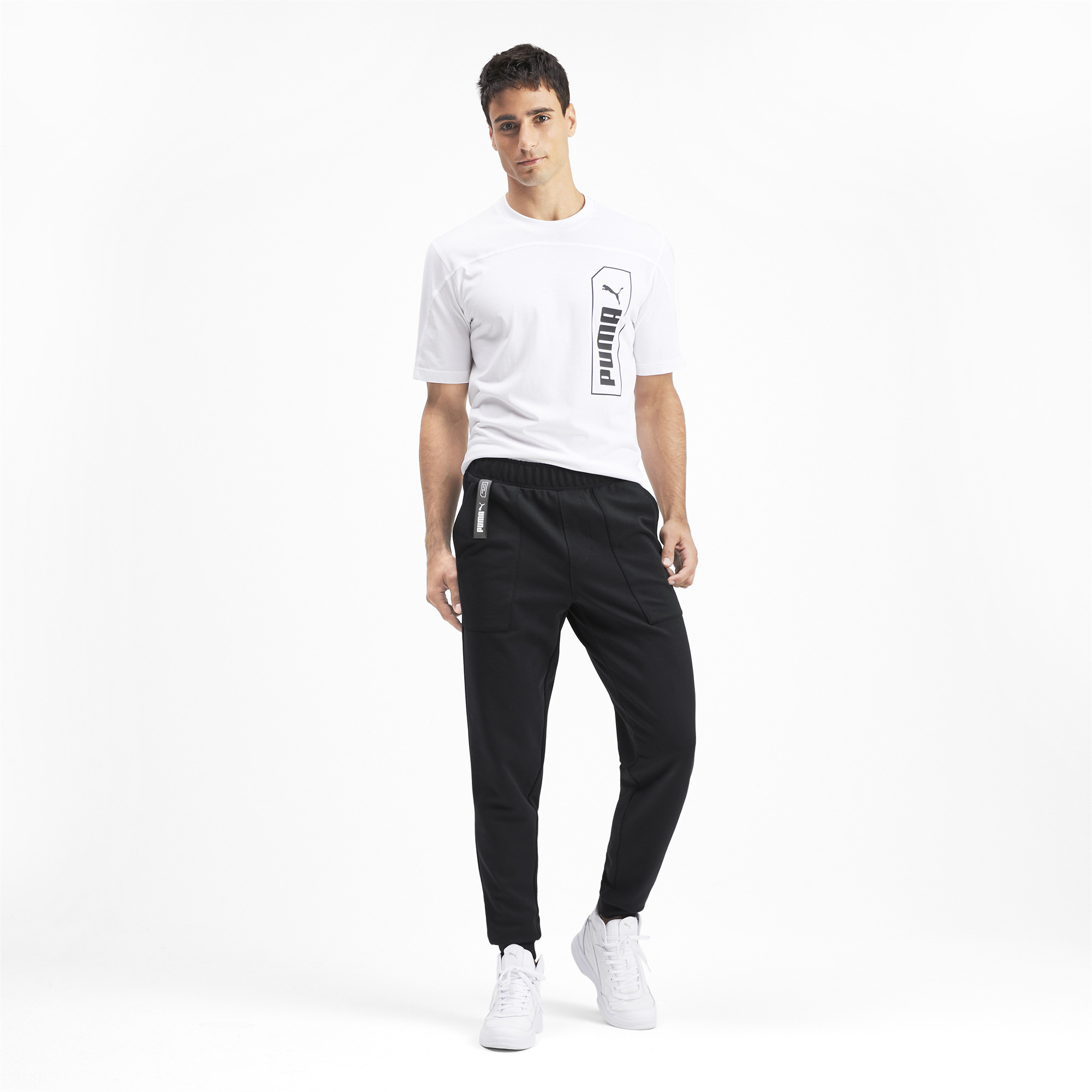 PUMA-NU-TILITY-Men-039-s-Sweatpants-Men-Knitted-Pants-Basics thumbnail 21